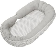 Grijze Quax Babynest Cozy Nest + Junior Sleepy-C