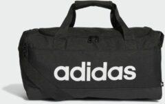 Adidas Performance sporttas Linear Duffel S zwart/wit