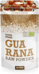 Purasana Guarana poeder bio 100 Gram