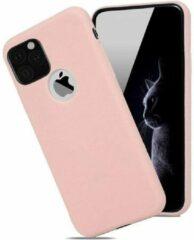 Able & Borret Smartphone hoesje | Telefoon hoesje | Anti shock | Stofdicht | Roze | iPhone 11 Pro Max