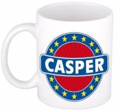 Shoppartners Namen mok / beker - Casper - 300 ml keramiek - cadeaubekers
