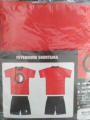 Rode FEYENOORD Shortama 2 delig Maat 152/158