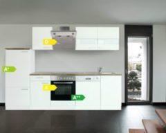 Respekta kitchen economy Respekta Küchenzeile KB280WWS 280 cm Weiß