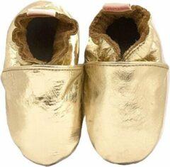 Gouden BabySteps slofjes Plain Gold XXXL