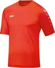 Jako Team SS T-shirt Heren Sportshirt performance - Maat L - Mannen - oranje