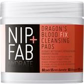 Nip+Fab Gesichtspflege Hydrate Dragon's Blood Fix Cleansing Pads 60 Stk.