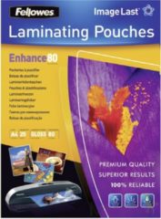 Fellowes lamineerhoes Enhance80 ft A4, 160 micron (2 x 80 micron), pak van 25 stuks