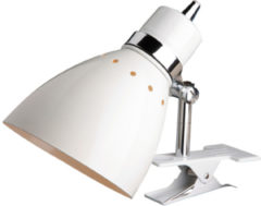 Steinhauer Spring - Wandlamp - 1 lichts - Wit - Klemlamp