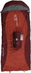10-T Outdoor Equipment 10T Parrot 300 - Kinder Decken-Schlafsack mit Halbmond-Kopfteil 180x75cm rot/orange Motivdruck bis +10°C