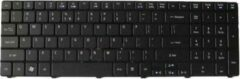 Zwarte Acer Aspire 5251 keyboard US
