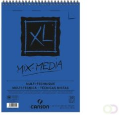 Bruna Aquarelblok Canson XL Mix Media A4 300gr 30vel spiraal
