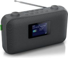 Zwarte Muse Electronics Muse M-118 DB - Compacte DAB+ / FM radio met slide show functie