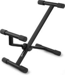 Zwarte Vonyx GS10 standaard voor gitaarversterker of monitorspeaker - Max. belastbaar tot 34kg