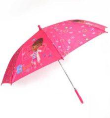 Disney paraplu Doc McStuffins 60 x 76 cm blauw