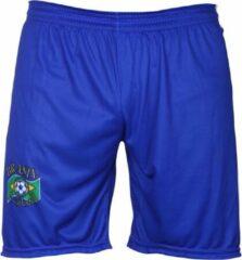 Blauwe Holland Brazilie Voetbalbroekje Thuis -92