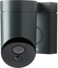 Antraciet-grijze Somfy Outdoor Beveiligingscamera - Grijs