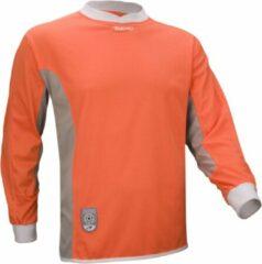 Avento - Keepersshirt - Kinderen - Maat L/XL - Oranje/Grijs/Wit