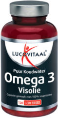 Lucovitaal Puur Koudwater Omega 3 Visolie Voedingssupplement - 150 capsules