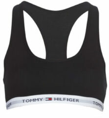 Zwarte TOMMY HILFIGER BH TOP COTTON BRALETTE ICONIC D 1387904878-BLACK-38