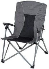 Antraciet-grijze Bo-Camp Opvouwbare stoel Wolga