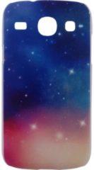 Marineblauwe Xccess Cover Samsung Galaxy Core I8260 Universe