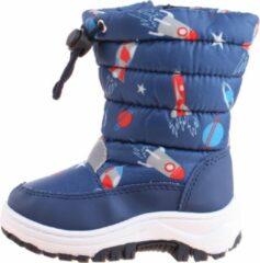 Blauwe Playshoes snowboots marine raket