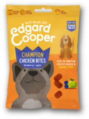 Edgard-Cooper Edgard&Cooper Chicken Bites - Hondensnacks - Kip Bosbessen Appel 50 g