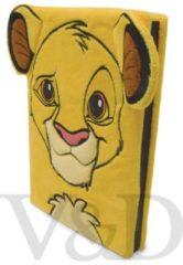 Gele Pyramid Notitieboek - Lion King: Simba - pluizig - A5