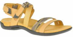 Gouden Merrell District Mendi sandalen geel