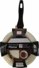 Discountershop Koekenpan - Ø 20 cm - Luxe koekenpan van 20cm Anti-aanbaklaag - Zwart