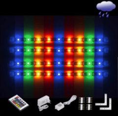 Witte EGLO Ledstrips - Flex - Coated - RGB Kleur - Afst. Bed. - L 4x300mm + 2 hoeken