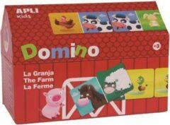 Apli Kids domino met 28 stukken, boerderij