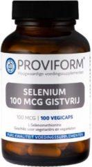 Proviform Selenium 100 mcg gistvrij 100v Capsules