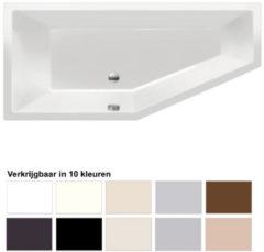 Ligbad Beterbad Xenz Society Compact Links 180x80x44 cm (Verkrijgbaar in 10 kleuren)
