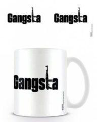 Witte 123 Kado koffiemokken Mok Gangsta