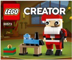 Beige LEGO Creator 30573 Kerstman (Polybag)