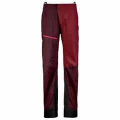 Ortovox - Women's 3L Ortler Pants - Wandelbroek maat XS, purper/rood/zwart