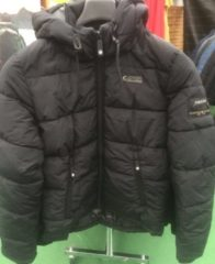 Brams Paris Gibson heren winterjas zwart - maat M