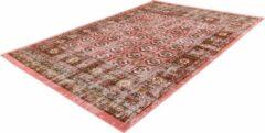 Ariya Vintage-look vloerkleed Rood / Multi200cm x 290cm