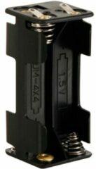Velleman BH443D Batterijhouder 4x AAA (potlood) Soldeeraansluiting (l x b x h) 53 x 27 x 25 mm