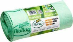 Groene Print equipment 5 x BIOBAG biologisch composteerbare | afbreekbare vuilniszakken | gft afvalzakken 150 L