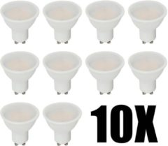 INTOLED V-TAC LED spots - 10 stuks - GU10 - LED - 230V - 5 Watt - Warm wit