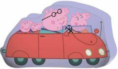 Peppa Pig Sierkussen - 30 x 25 cm - Paars