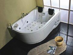 Plazan Carmen luxe whirlpool 180x120x66cm Links