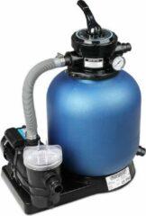 Monzana Zandfiltersysteem 9.960 l/uur Voorfilter 30 l tank + 25 kg Filterglas - Zwembad