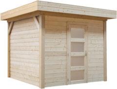 Woodvision Topvision | Blokhut Kiekendief 200 x 300 | Geimpregneerd-groen