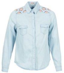 Blauwe Overhemd Yurban EGUATOULE