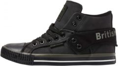 British Knights Roco halfhoge sneakers grijs/zwart