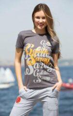 GSSTORE Galatasaray Dames Shirt Grijs maat M