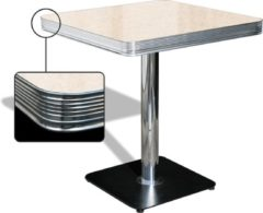 Bel Air Retro Eettafel TO-23W Antique White - Bel Air Retro Eettafel TO-23W Antique White